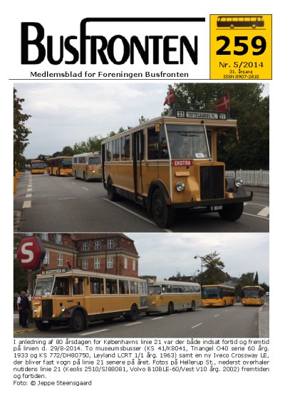 Busfronten 259