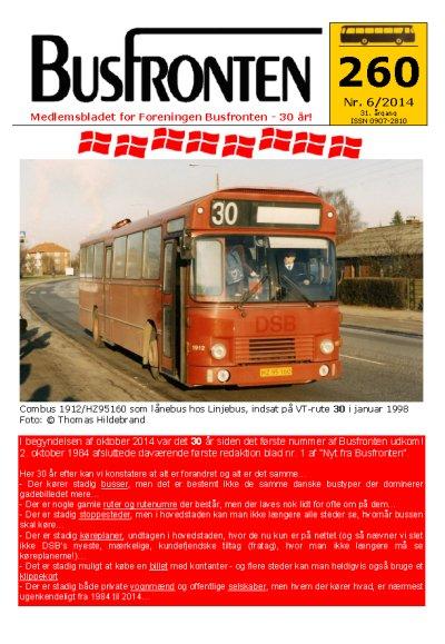 Busfronten 260