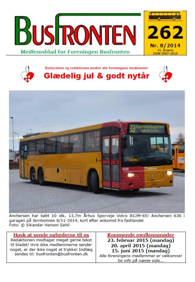 Busfronten 262